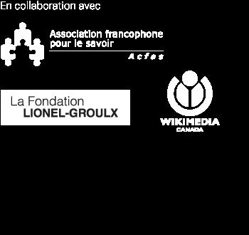 En collaboration avec l'Acfas, la Fondation Lionel-Groulx et Wikimedia Canada.