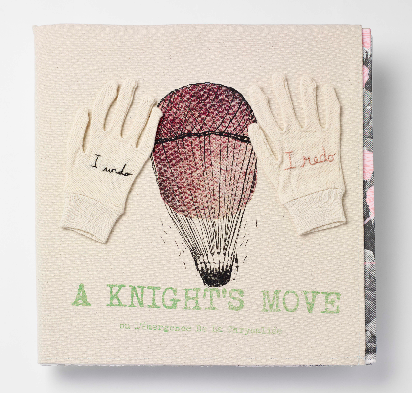 Livre d'artiste A Knight move.