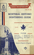 Montreal historic sightseeing guide 1642-1945
