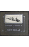 Winter souvenir of Montreal