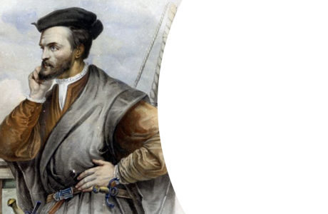 Portrait de Jacques Cartier.