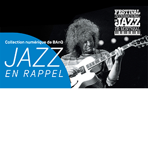Jazz en rappel promo image, with guitarist Pat Metheny.