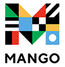 Logo de Mango Languages.